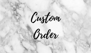 Custom Design Cake or Cupcake Topper