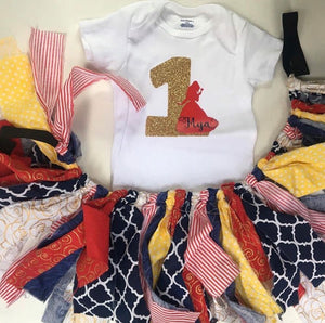 First Birthday outfit set