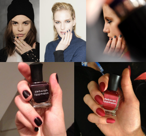 Autumn/Winter 2013 Matte Nails