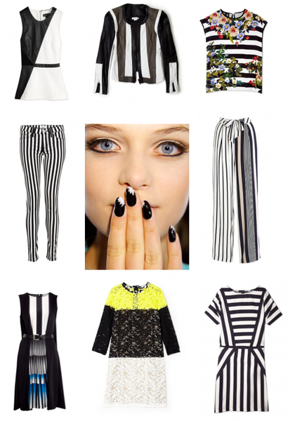 Trend: Black and White