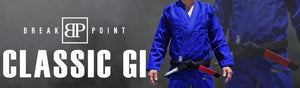 Break Point Classic Jiu Jitsu Gi - Blue