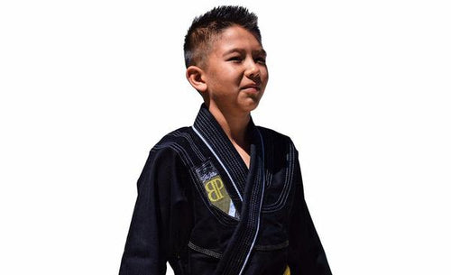 Break Point Kids Flight Series Gi - Black