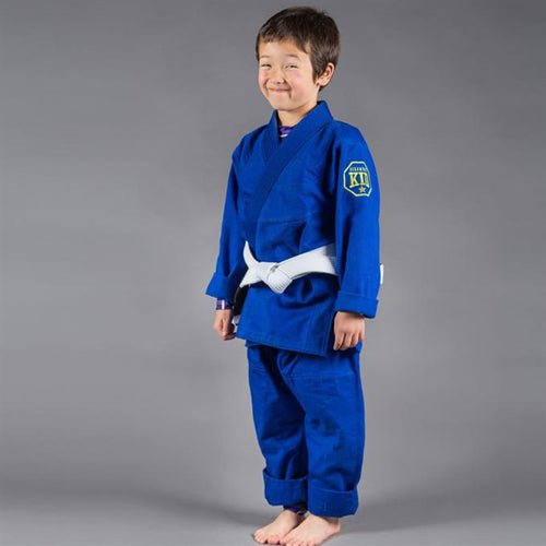 Scramble Children's Jiu Jitsu Gi - Blue