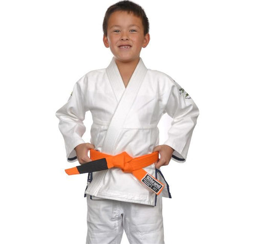 93 Brand Future Champs Kids Jiu Jitsu Gi - White