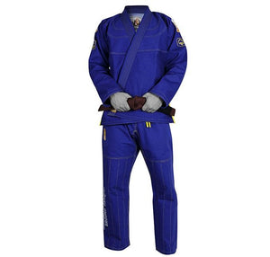 "Ground Game ""Surf Jitsu"" Blue Jiu Jitsu Gi"