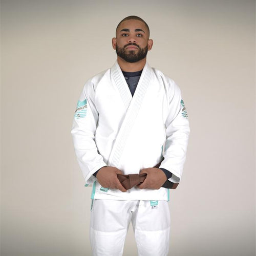Hyperlyte Jiu Jitsu Gi - White/Tiffany
