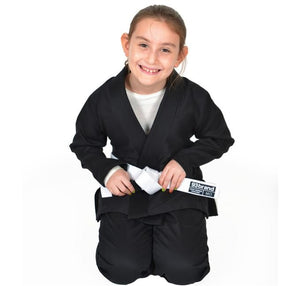 93 Brand Standard Issue V1.2 Children's Jiu Jitsu Gi - Black