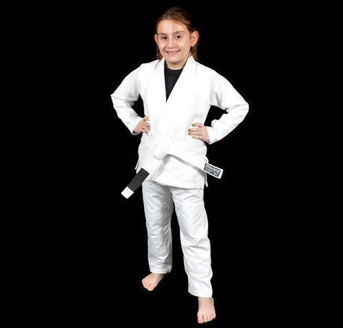 93 Brand Standard Issue V1.2 Children's Jiu Jitsu Gi - White