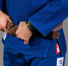 Load image into Gallery viewer, Scramble Athlete 2.0 Blue Jiu Jitsu Gi