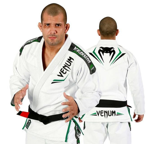 Venum Elite Jiu Jitsu Gi (White/Green)