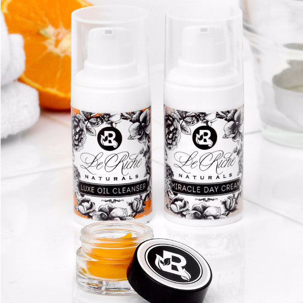 Facial Care Kit Sweet Orange - Travel size