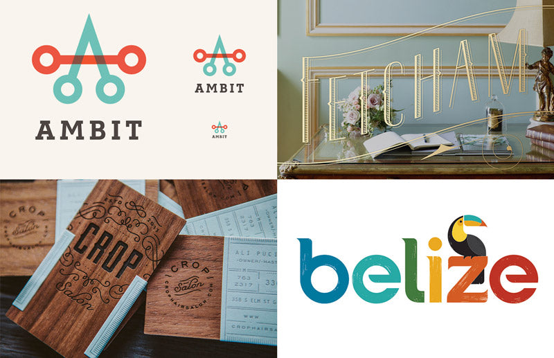 Brand and identity design inspiration