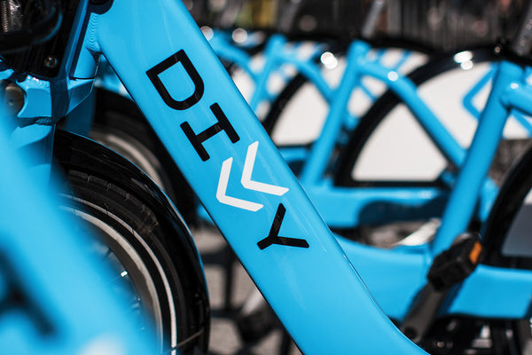 Chicago's Divvy bicycle share scheme brand