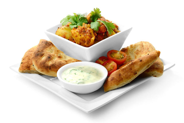 curry and side dishes