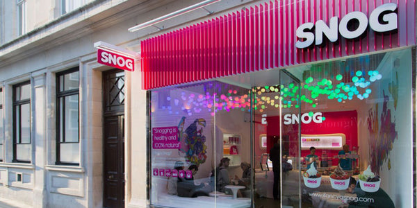 The Snog frozen yogurt brand