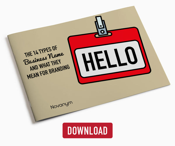Download our free guide to business naming  |  Novanym