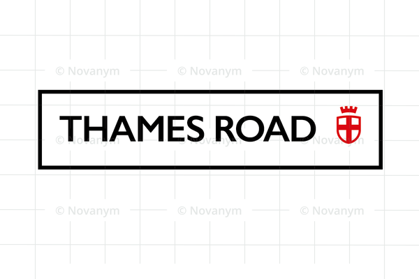 ThamesRoad is a unique business name for sale at Novanym