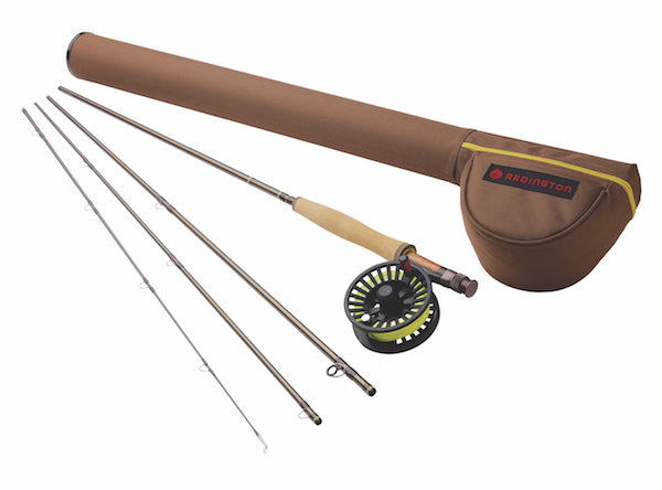 4 Piece Rod with Reel and Case