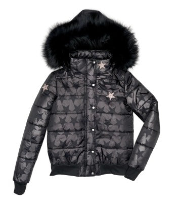 Star Nylon Quilted Jacket