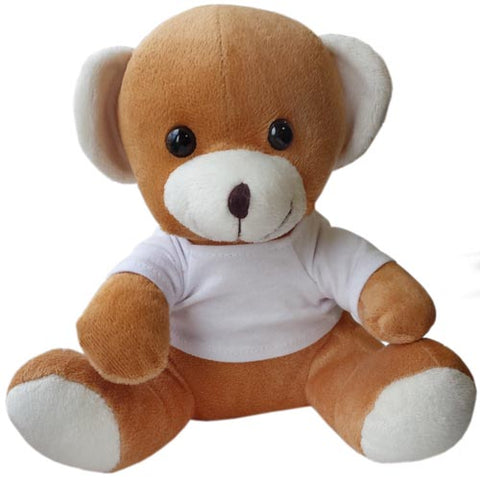 10 Inch Jay Jay Bear with T Shirt
