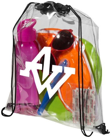 Lancaster Clear PVC Backpack
