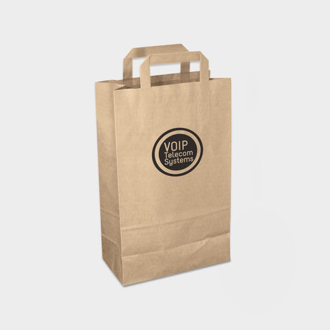 Recycled Medium Paper Carrier Bag