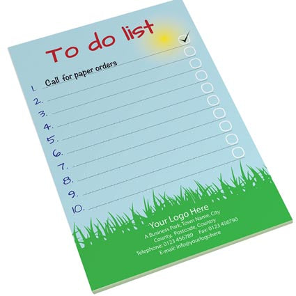 25 Sheet A5 Notepads