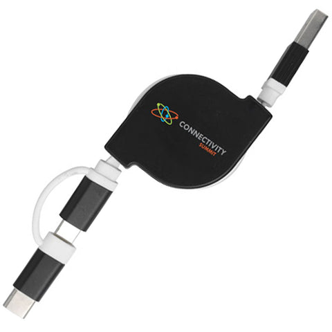 3 in 1 Retractable Charging Cables