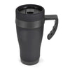 450ml Oregan Matt Black Travel Mugs  - Image 4