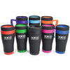 450ml Oregan Matt Black Travel Mugs  - Image 5