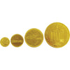 55mm Embossed Chocolate Coins  - Image 2