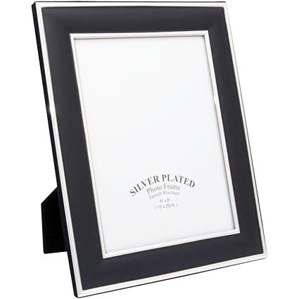 6 X 8 Inch Black Photo Frames Promotional Luxury Business Gifts