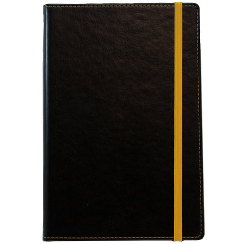 A5 Colour Contrast PU Notebooks