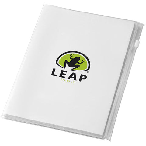 A5 PVC Zipped Notebooks