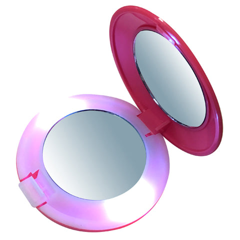 Any Colour LED Compact Mirrors
