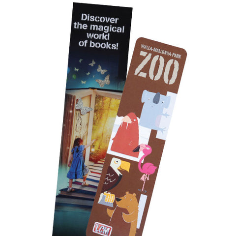 Laminated Card Bookmarks