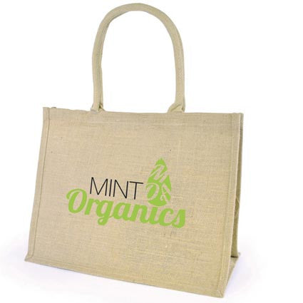 Chow Natural Jute Bag