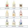 Coloured Handle Cotton Tote Bags  - Image 6