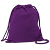 Cotton Drawstring Back Pack  - Image 4