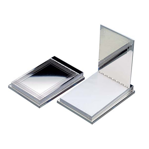 Silver Plated Notepad Sample