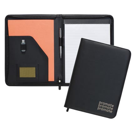 Dartford A4 Zipped Folder