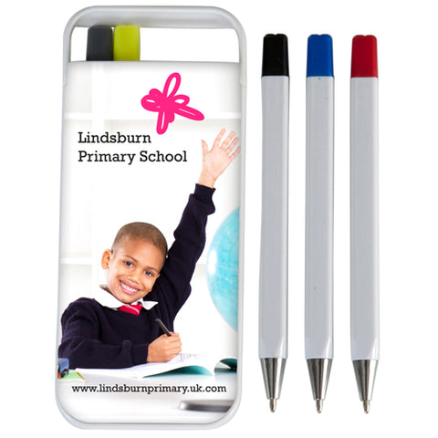 Essentials Flip Case Pen Sets