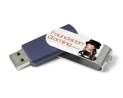5 Day Express Twist USB Flashdrive 1GB