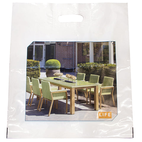 Full Colour Polythene Carrier Bags