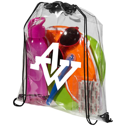 Lancaster Clear PVC Backpacks