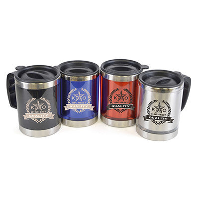 Coloured Stainless Steel Mugs