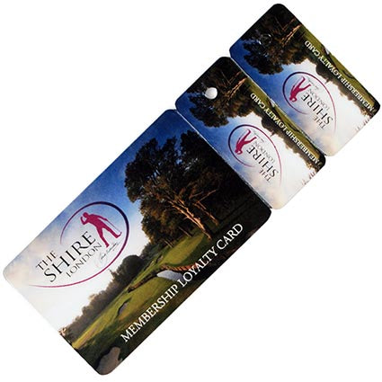 Membership Club Card and Keytag Sets