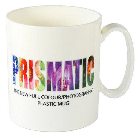 Plastic Prismatic Mugs