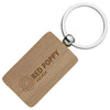 Rectangular Wooden Keyrings