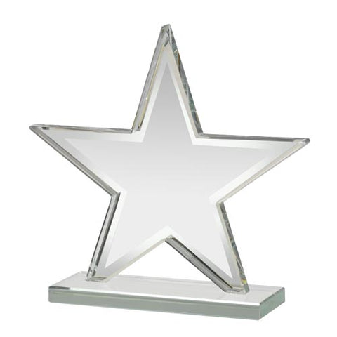 Small Glass Star Awards